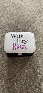 Wedding Ring Holder / Box NEW