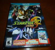 BRAND NEW Star Fox Zero (Nintendo Wii U)  W BONUS STARFOX GUARD GAME