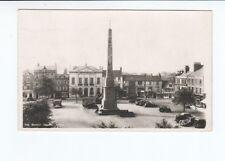 Postcard. Real Photo.The Market Square. Ripon 1952
