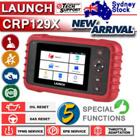 NEW! Launch CRP129X Airbag ABS TPMS Scaner Diagnostic Scan Tool OBD2 Code Reader
