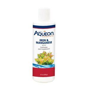 Aqueon Iron & Manganese Supplement 8oz      Free Shipping
