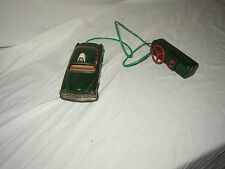 JAPANESE TIN POLICE CAR BATTERY OPERATED  LOT #Z-5