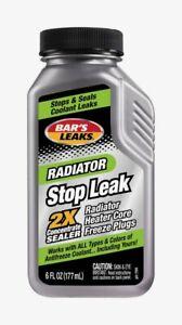Bar's Leaks Radiator STOP LEAK 6 oz Cooling System Sealer & Conditioner 1194 NEW