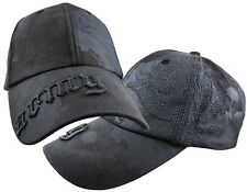 Military US Army Paint Spattered Hat Men Ball Cap Brass Closure New Black Washed