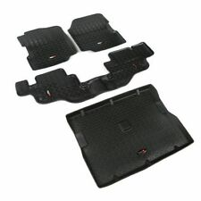 Rugged Ridge Floor Liner Kit Black 76-86 Jeep Cj & 87-95 Wrangler Yj X 12988.09
