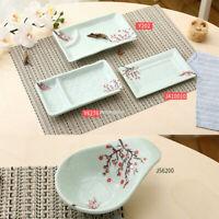 Kitchen Tableware Melamine Sauce Dish Sushi Plate Dessert Dishes Plum Flower