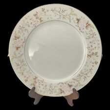 """Lot of 7 RARE MIKASA ROSE CREST 10 1/2"""" Dinner Plates -Japan L9027 Discontinued"""