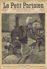 Le petit parisien illustré 272 1894 Suicide Train Falstaff Verdi Ambroise Thomas