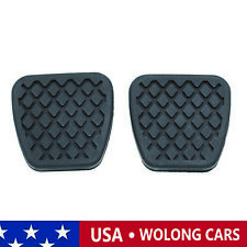 2PCS Brake Clutch Pedal Pad Rubber Covers Fits for Honda Acura 46545-SH3-000