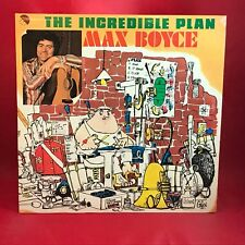 MAX BOYCE The Incredible Plan 1976 UK vinyl LP EXCELLENT CONDITION  Live a