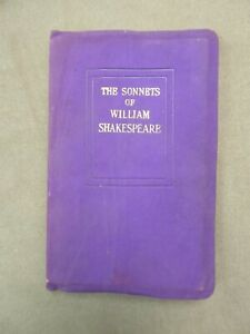 THE SONNETS OF WILLIAM SHAKESPEARE.