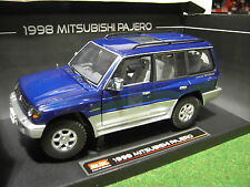 MITSUBISHI PAJERO 4X4 long 3.5 V6 de 98 au 1/18 voiture miniature SUN STAR 1223