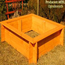 Sandkasten 120x120 imprägniert Sandkiste NEU bemalt SOLIDE SANDBOX