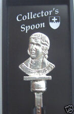 Robert Burns Silver Plated Collectable Spoon