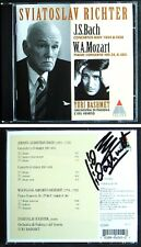 Sviatoslav Richter Bach Mozart PIANO CONCERTO 25 BWV 1054/8 Yuri Bashmet Sign CD