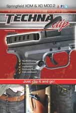 Springfield XD(M)- Conceal Carry Gun Belt Clip (Right-Side) Techna Clip