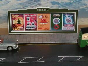 7 Advertising Billboard, Hoardings 1950's- 1960's including film adverts