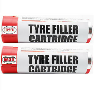 Tyre Dough Repair Filler Cartridge Tyre Rubber Compound Fills Cuts In Tyres x 2