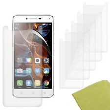 5 Pack PET Film Screen Protector Guard For Lenovo Vibe K5 Plus