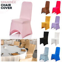 Chair Covers Spandex Stretch Slip Seat Cover Wedding Banquet Party Dining Decor