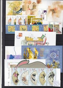 0104 Macau Nice lot of stamps on 2 cards see scan