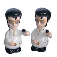Salt and Pepper Set The King - Elvis Cool Fun Gift Kitchen Music Fan Singer