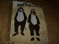 CASSIDY THE BLACK CAT KITTY PET ANIMAL COSTUME PAJAMAS JUMPSUIT CHILDS SMALL (S