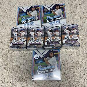New York Mets 2021 Topps Bowman Chrome & Platinum Baseball BOX BREAK