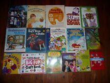 Lot of 16 CHILDREN'S CRAFT BOOKS Magic ART Soft Toys Dolls LITTLE HANDS +