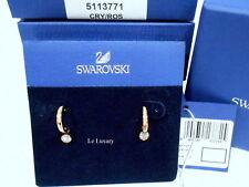Swarovski 5113771 Canvas Pierced Earrings, Set, ROS Clear Crystal Authentic MIB