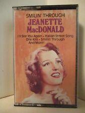 Cassette RCA CAK-325 Vintage 1986 JEANETTE MacDONALD Smilin' Through 410