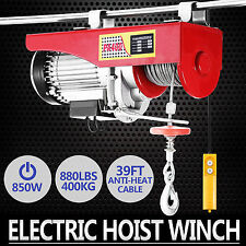 400KG Electric Hoist Winch Lifting Engine Crane Auto Wire Rope Gantry WHOLESALE