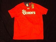 UnderArmour St Johns LaCrosse Short-Sleeved Shirt HeatGear Adult Size Xl Nwt!