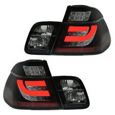 LED Lightbar Heckleuchten Rückleuchten Set für BMW E46 Limo Bj. 98-01 Schwarz