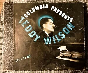 TEDDY WILSON and his PIANO - 1942 Columbia 4-record Set C-93