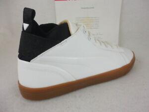 Puma Play Nude, Puma White, Gum, Patent Leather, 361469 02, Size 8