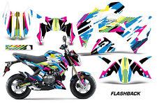 AMR Racing Kawasaki Z125 PRO Graphic Kit Dirt Bike Decals MX Wrap 2017 FLASHBACK