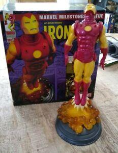 "Iron Man Classic Statue Diamond Select Art Asylum Marvel 541/2500 16"""