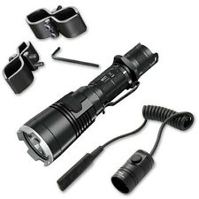 Bundle: Nitecore MH27 Flashlight w/ GM03 Gun Mount & RSW1 Pressure Switch