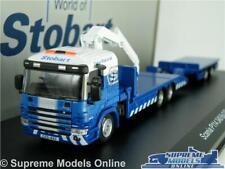 SCANIA P114 Model Lorry Truck Eddie Stobart 1 76 Atlas 4664115 Rail World K8