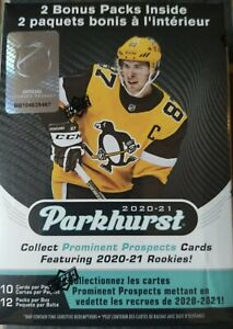 NEW Parkhurst NHL 2020-21 Hockey Blaster Box 12 Packs 10 Cards Per Pack SEALED