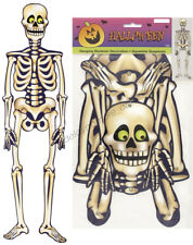 Halloween Spooky Scary Birthday Party Jointed Skeleton Hanging Decoration 89cm