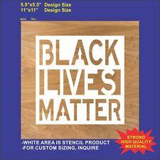 Black Lives Matter - Reusable, Flexible  Stencil
