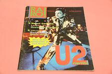 """RARO RIVISTA DISCOGRAFIA VALUTAZIONE LP 7"""" CD N° 44/45 U2 NAPOLI CENTRALE"""