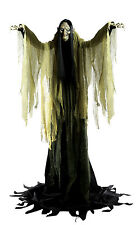 HALLOWEEN LIFE SIZE ANIMATED HAGATHA THE TOWERING WITCH PROP DECORATION HAUNTED
