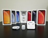 iPhone XR Box with OEM Apple Accessories Included Original iPhone XR Retail Box