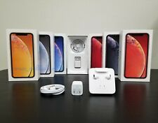iPhone XR Box with OEM Apple Accessories Included Original Charger and Lightning