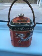 Codeg foreign Tea Caddy Hand Decorated.