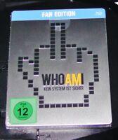 Who en la i sin Sistema Ist Seguro Marcado Limitada Steelbook Blu Ray Nuevo &