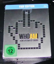 Who Am I Kein System Ist Secure Embossed Limited Steelbook Blu Ray New Ovp